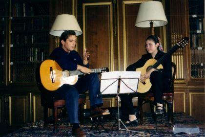 Irina Kulikova with José María Gallardo del Rey